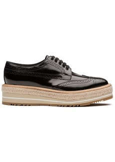 Prada platform lace-up Derby shoes