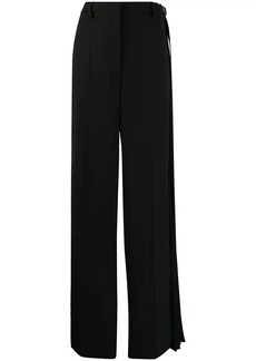Prada pleated detail trousers