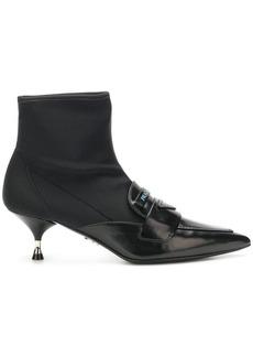 Prada pointed sock boots
