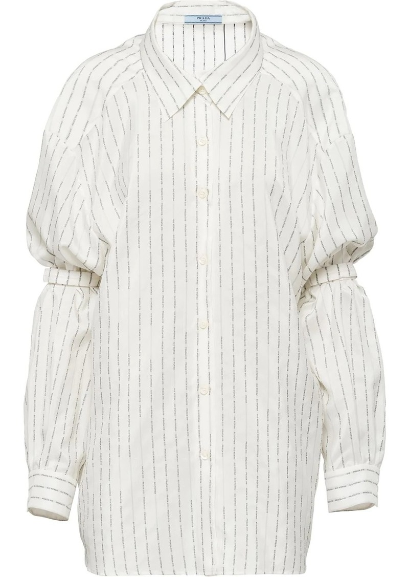 Prada Pongé shirt