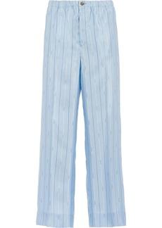 Prada Pongé trousers