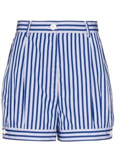 Prada poplin bloomer shorts