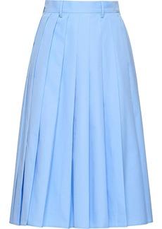 Prada Poplin skirt