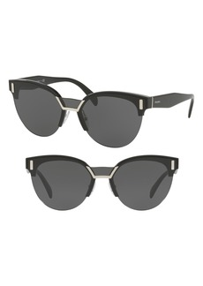 Prada 50mm Angular Sunglasses
