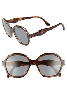 Prada 50mm Square Sunglasses