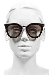 Prada 52mm Cat Eye Sunglasses