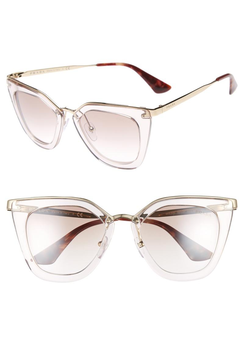 255e153e66d6 Prada Prada 52mm Retro Sunglasses