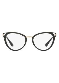 Prada 52mm Tortoiseshell Optical Glasses