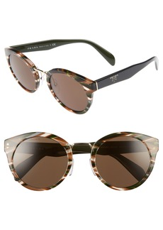 Prada 53mm Cat Eye Sunglasses