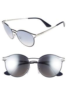 Prada 53mm Round Sunglasses