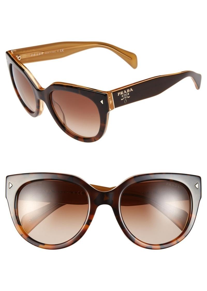 efca9127db3e Prada Prada 54mm Cat Eye Sunglasses