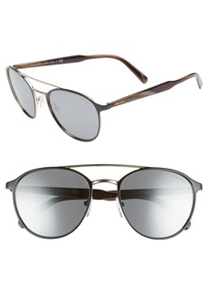 Prada 54mm Gradient Aviator Sunglasses