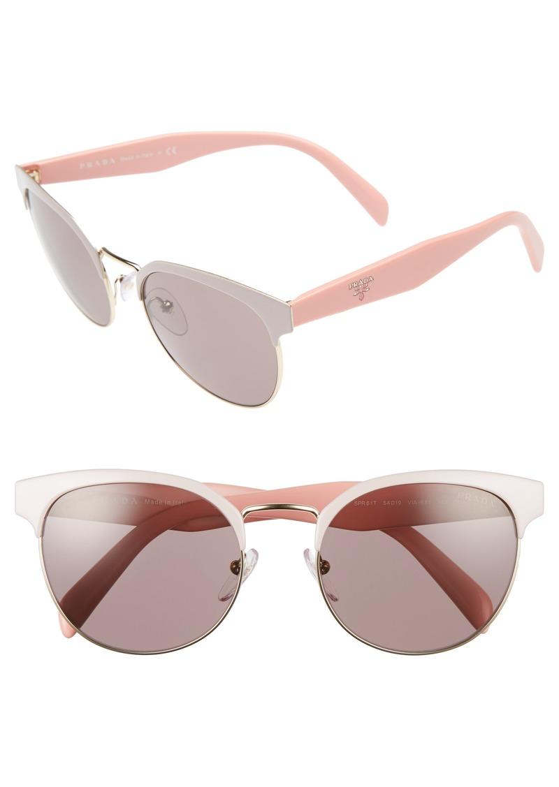 c3fa40d025 Prada Prada 54mm Gradient Round Sunglasses