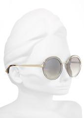Prada 54mm Round Gradient Sunglasses