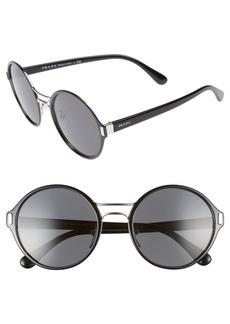 Prada 54mm Round Sunglasses