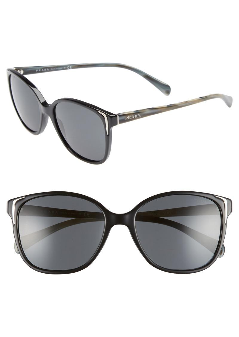 Prada 55mm Retro Sunglasses (Nordstrom Exclusive)