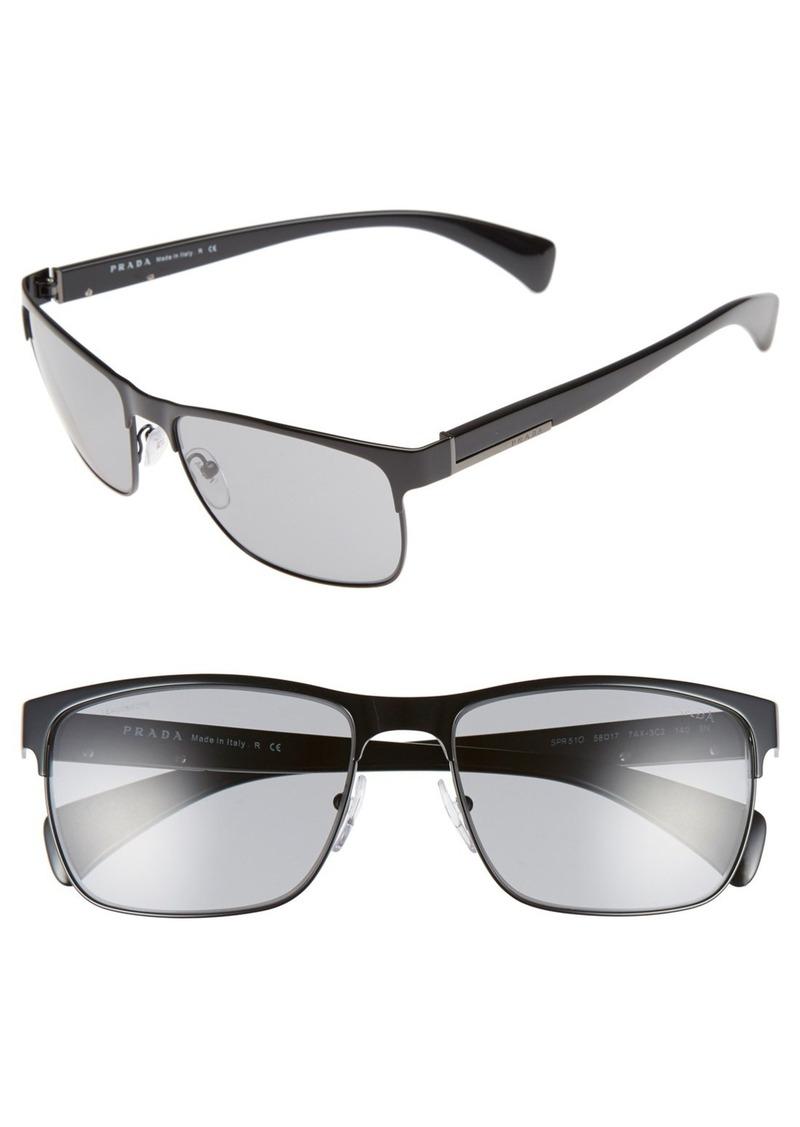 Prada 58mm Sunglasses