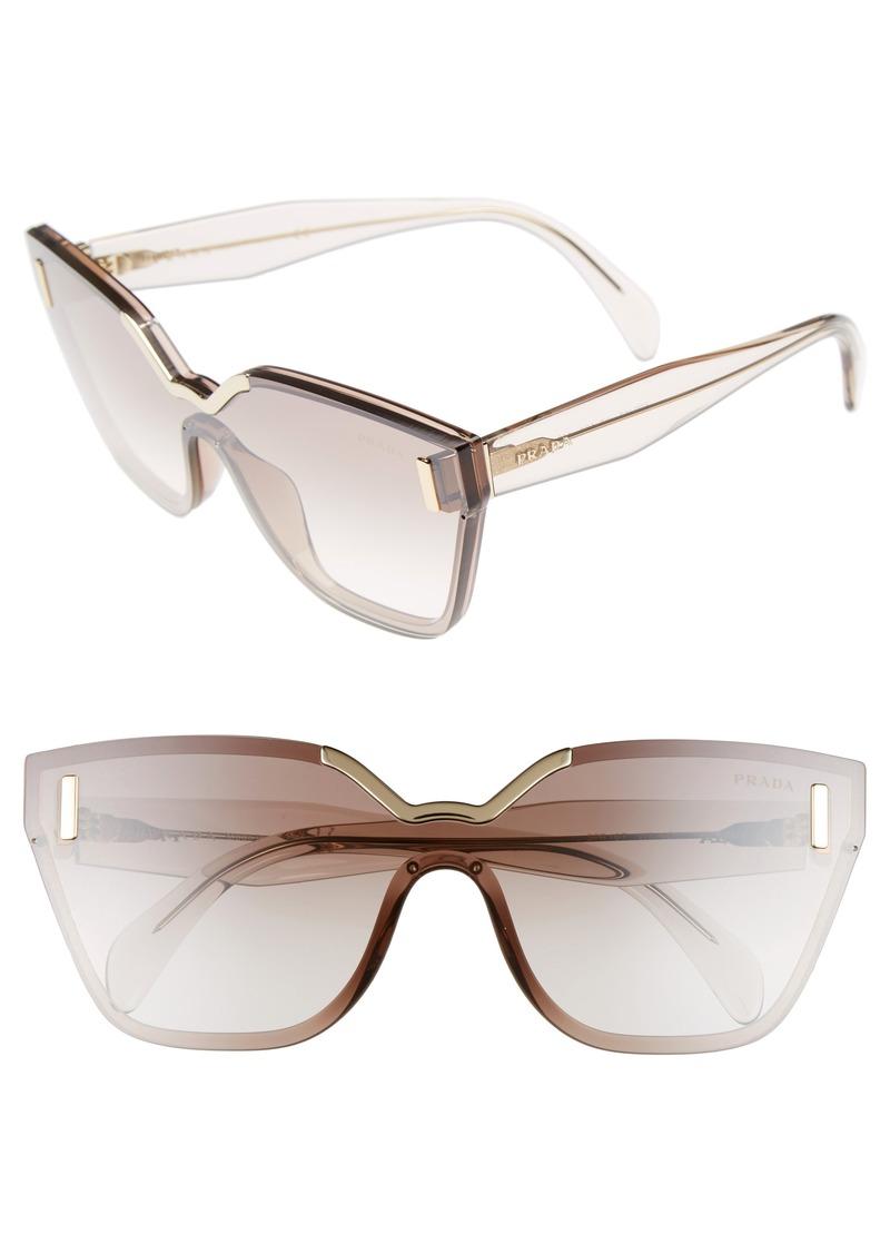 bb85547d803f7 Prada Prada 61mm Mirrored Shield Sunglasses