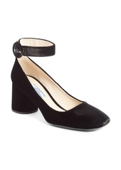 Prada Ankle Strap Pump (Women)