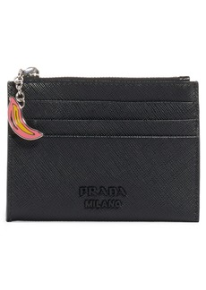 Prada Banana Charm Card Leather Case