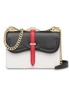 Prada Belle leather shoulder bag