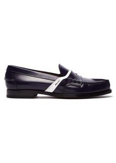 Prada Bi-colour leather loafers