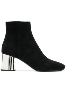 Prada block heel ankle boots - Black