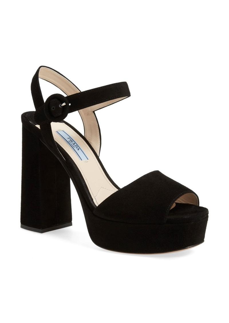 4e85e1ebb67 Prada Prada Block Heel Platform Sandal (Women)