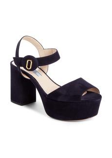Prada Block Heel Platform (Women)