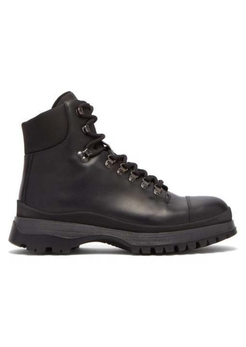 Prada Brixxen leather boots