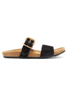 Prada Buckle leather sandals