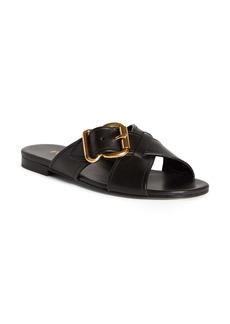 Prada Buckle Slide Sandal (Women)