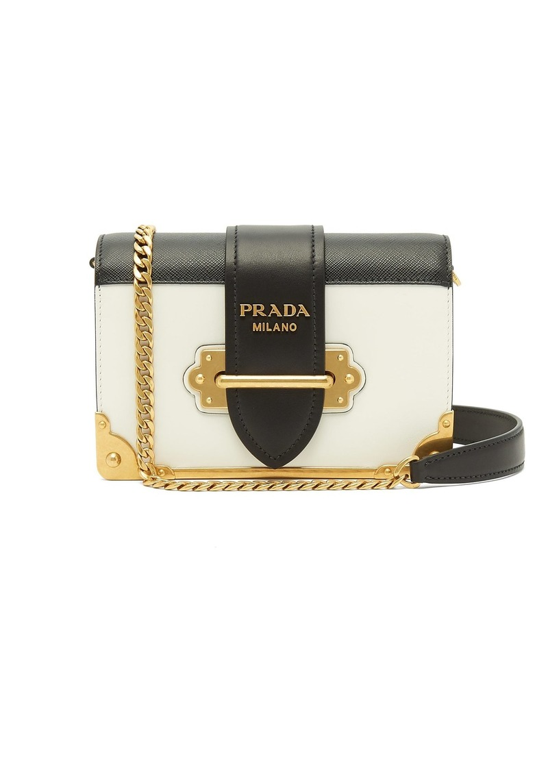 2353a45c7a Prada Prada Cahier bi-colour leather cross-body bag
