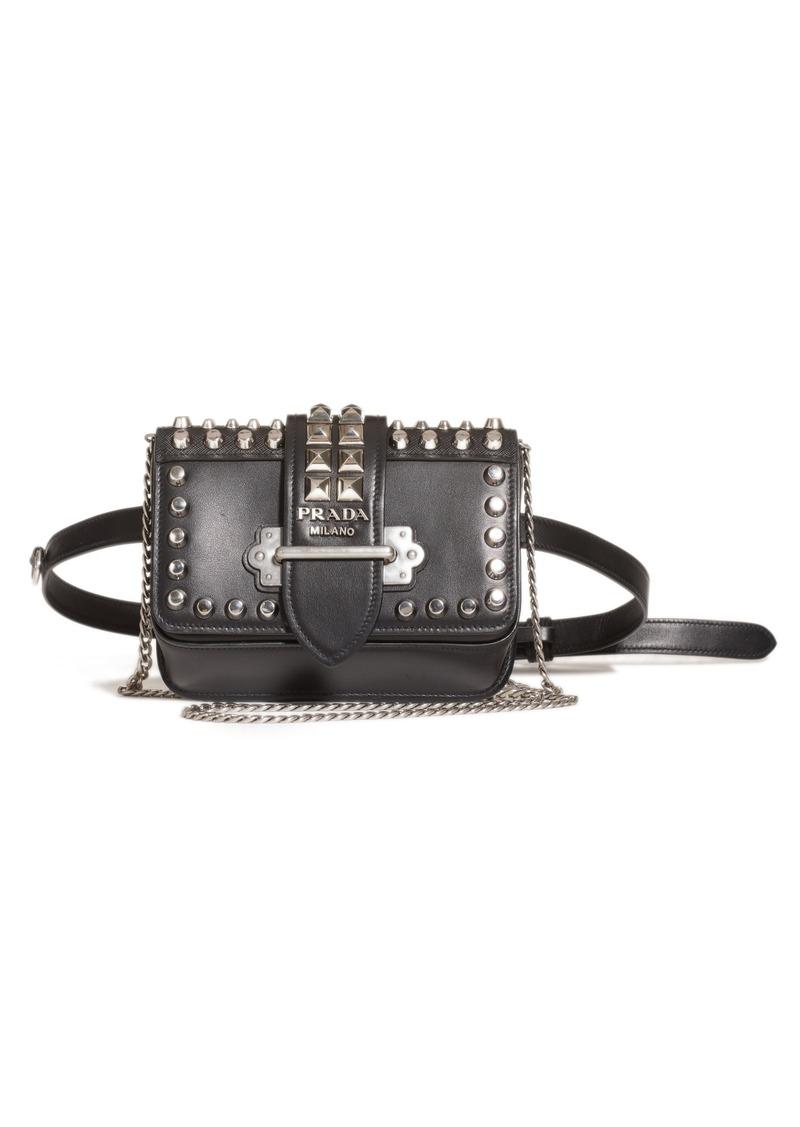 a86744b45050 ... canada prada cahier calfskin leather convertible belt bag 4d4e0 87939
