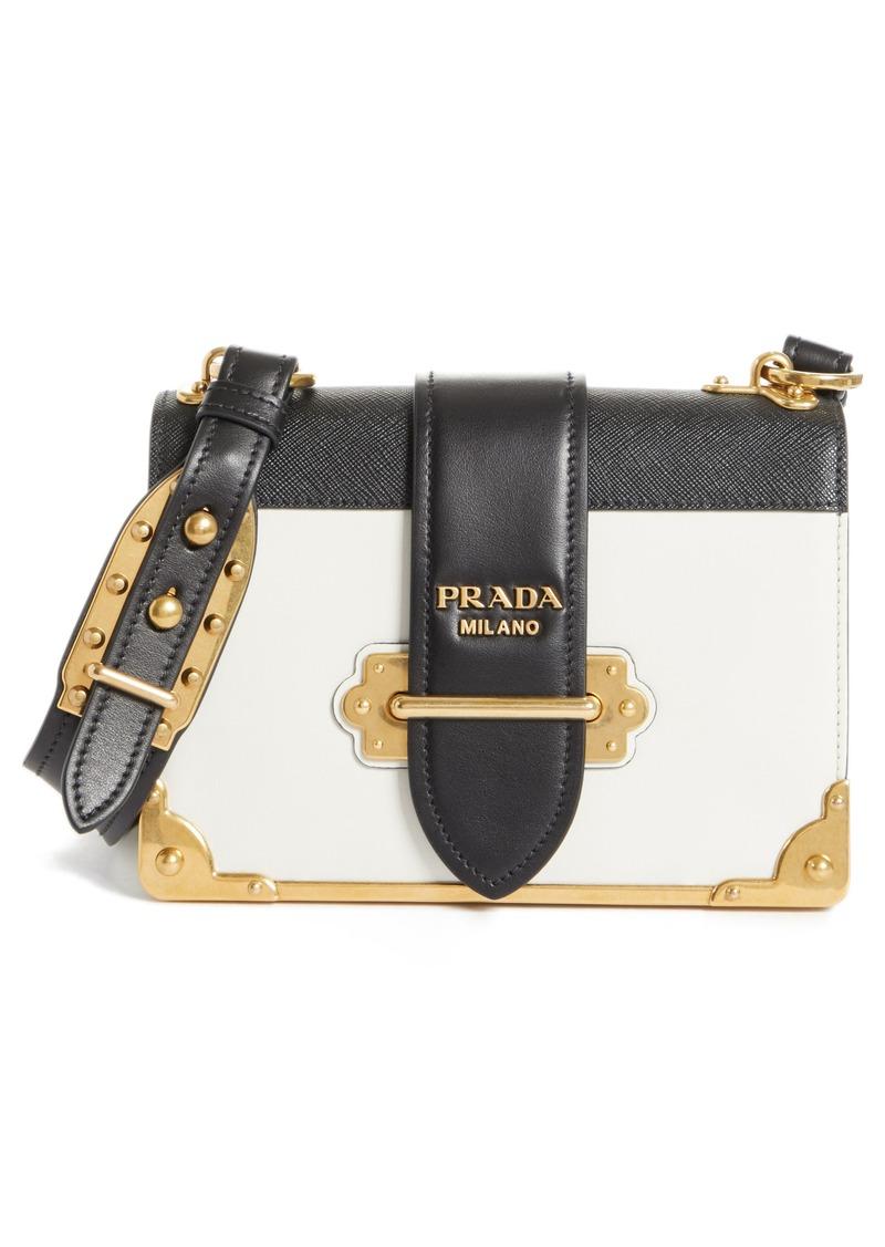 43377f9b25e4 Prada Prada Cahier City Calfskin   Saffiano Shoulder Bag