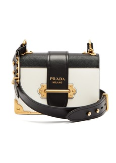 Prada Cahier leather cross-body bag