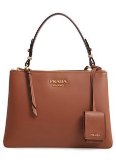 Prada Calfskin Leather Shoulder Bag