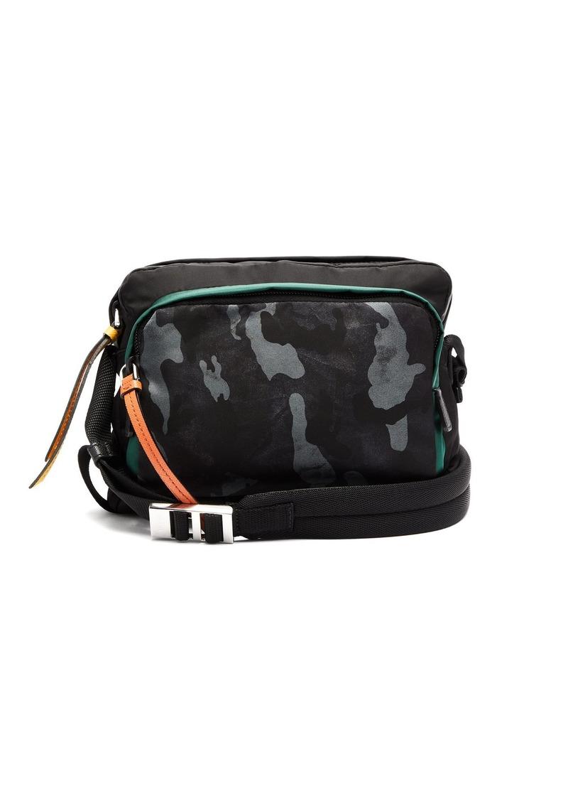 a55ab56c11826a Prada Prada Camouflage-print nylon shoulder bag | Bags