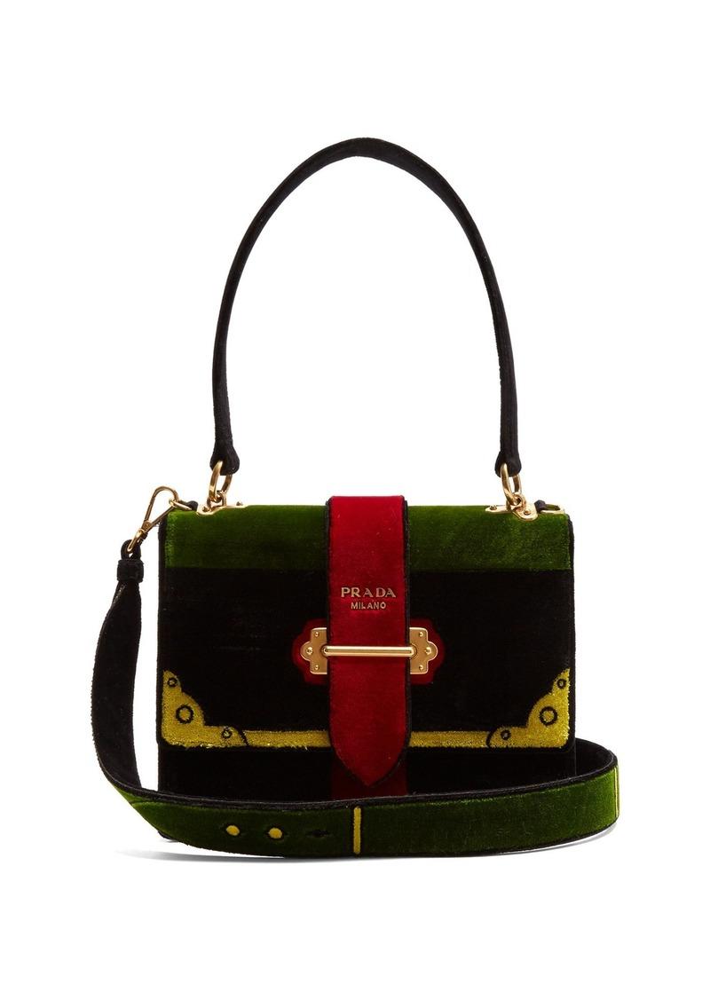 1b4376267406 Prada Prada Cartoon velvet bag