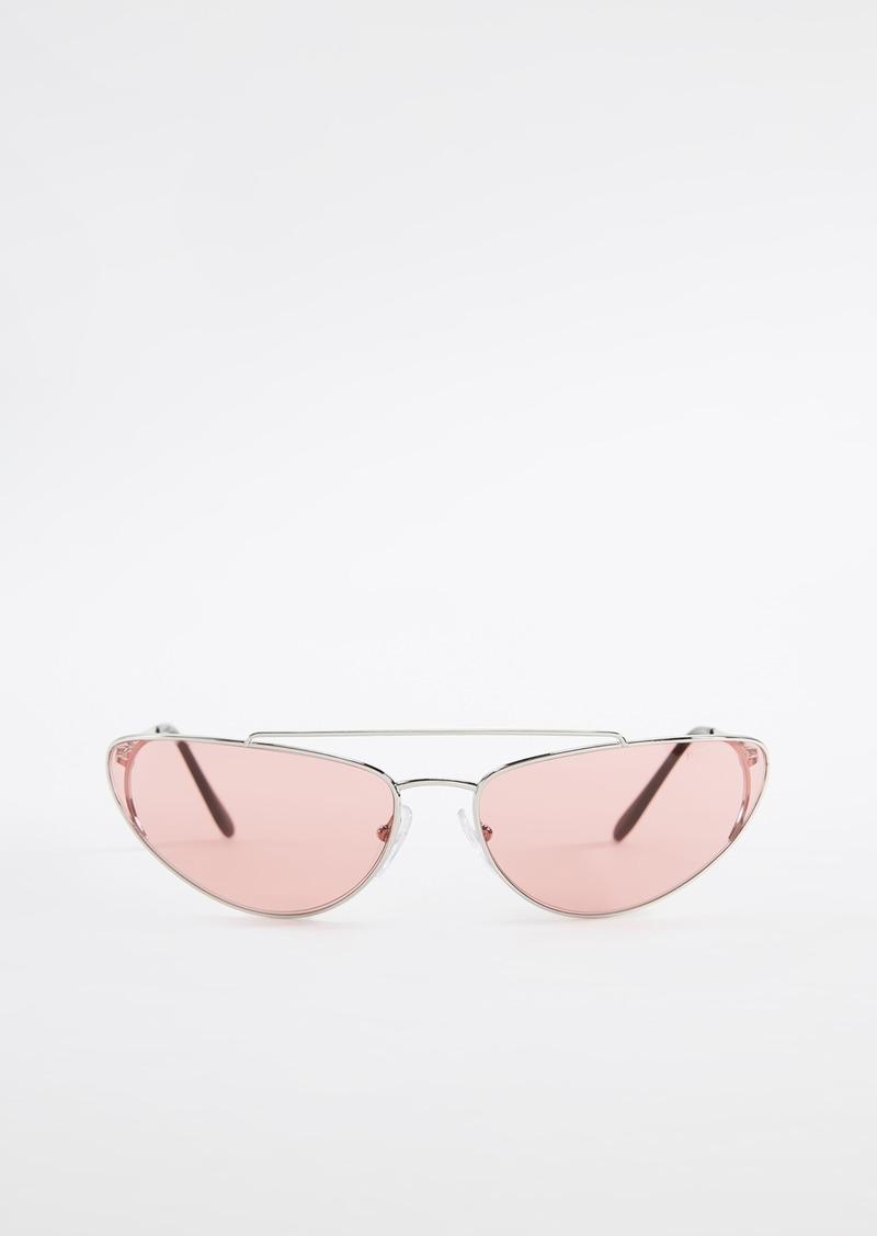 00f93ef2ecd08 Prada Prada PR 62VS Cat Eye Sunglasses
