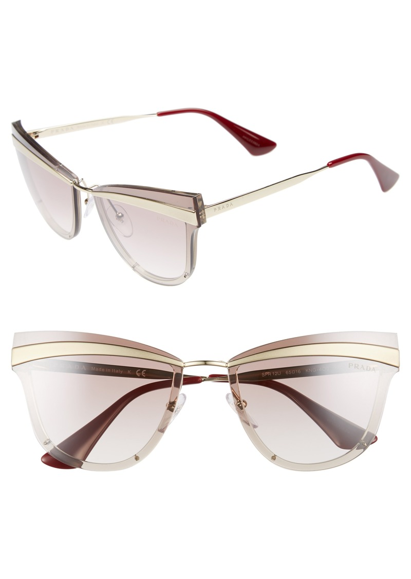 d316f67e33 Prada Prada Cinema Evolution 65mm Cat Eye Sunglasses Now  199.98