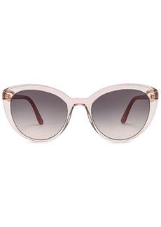 Prada Cinema Round Acetate Sunglasses