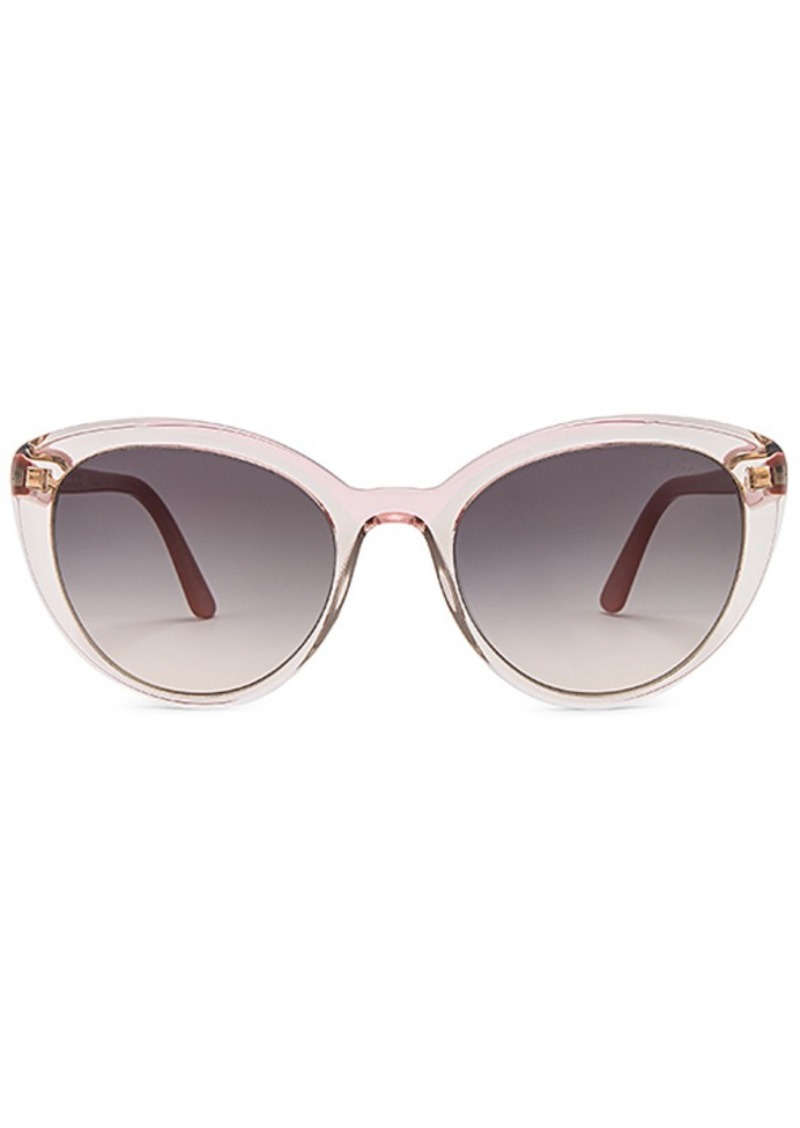 Prada Cinema Round Acetate Sunglasses