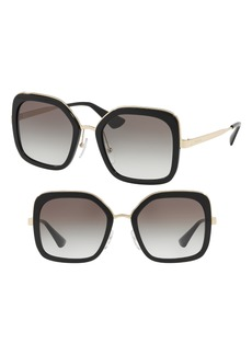 Prada Cinma Evolution 54mm Sunglasses