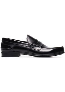 Prada classic leather loafers