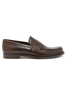Prada Classic leather penny loafers