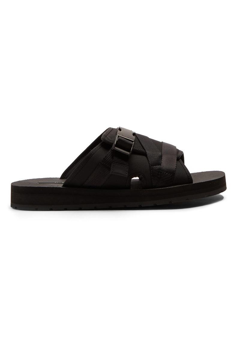 dadbbd6bd4c9 Prada Prada Clip buckle-fastening strap slides | Shoes