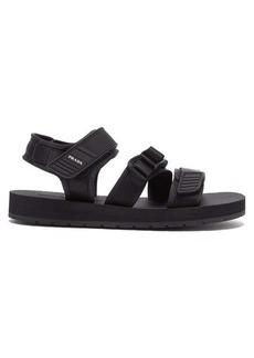 Prada Clip buckle-fastening velcro-strap sandals