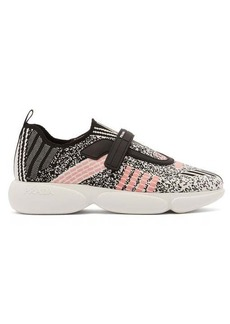 Prada Cloudbust low-top technical-knit trainers