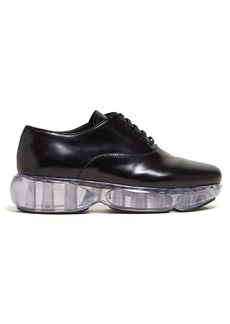 Prada Cloudbust-sole leather oxford shoes
